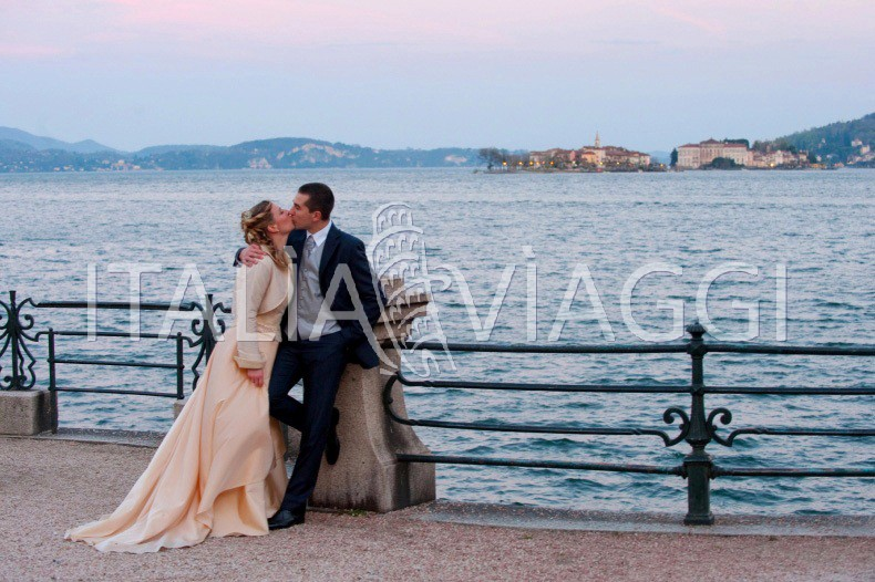Isola madre wedding